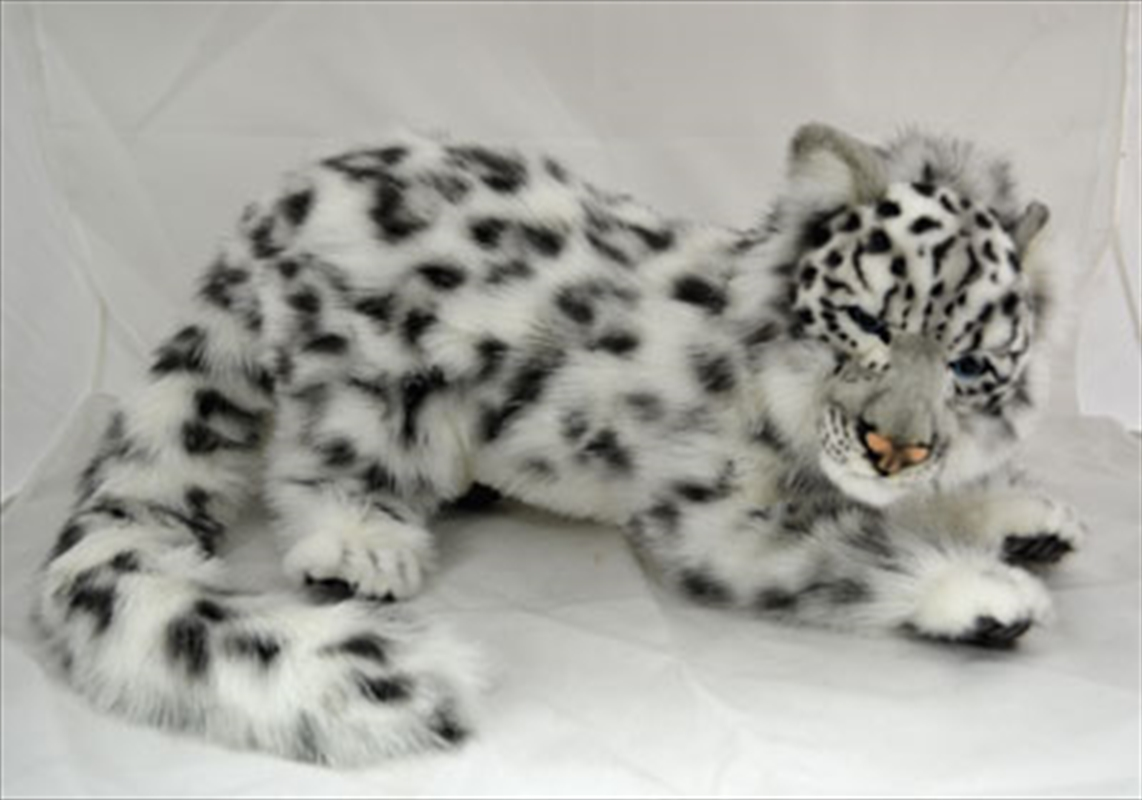 Snow Leopard Laying 50cm L | Toy