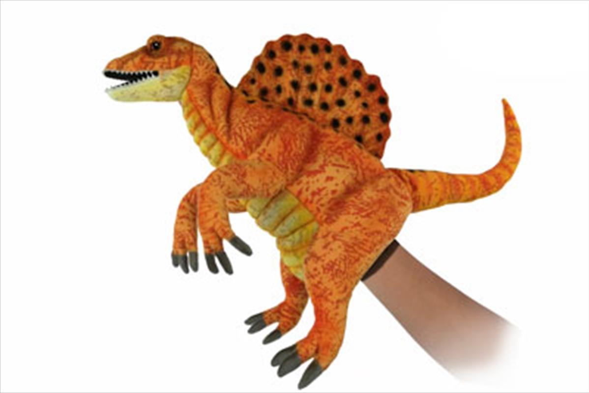 Spinosaurus Puppet Yellow/Gold   Toy