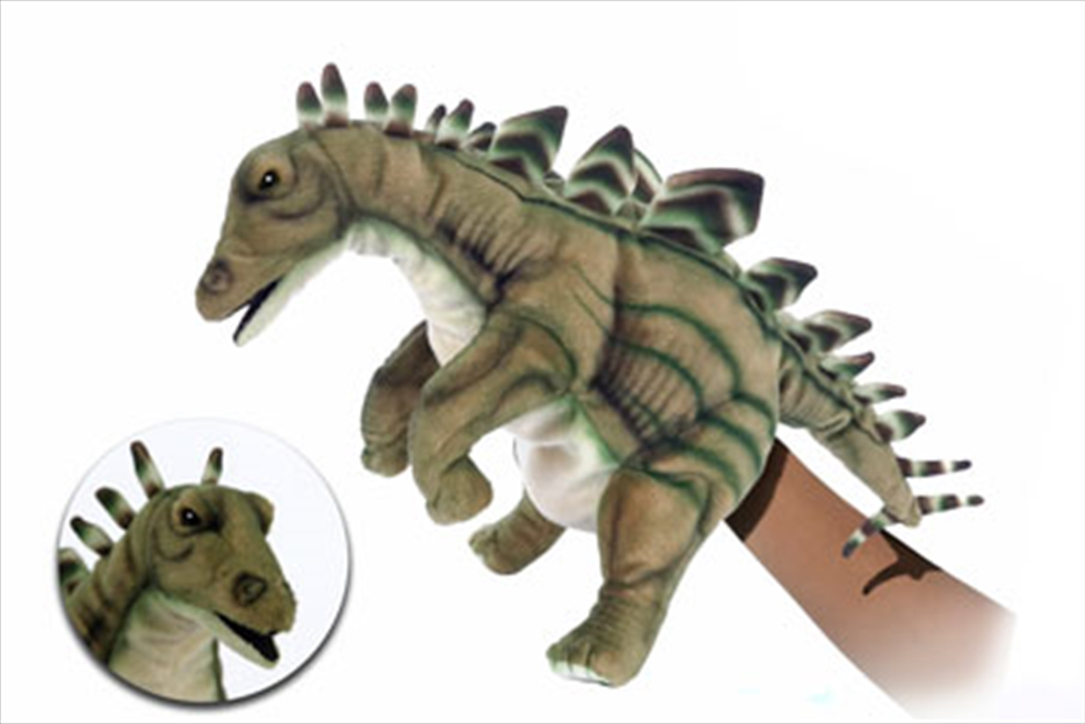 Stegaosaurus Puppet 40cm L | Toy