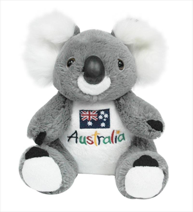 22cm Koala W/ Embroid Front   Toy