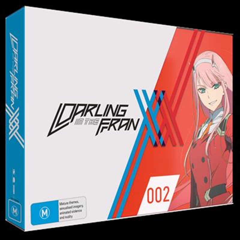 Darling In The Franxx - Part 1 - Eps 1-12 - Limited Edition   Blu-ray + DVD   Blu-ray/DVD