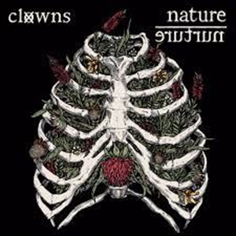Nature/Nurture - Limited Edition Bottle Brush Clear Red Splatter Vinyl | Vinyl