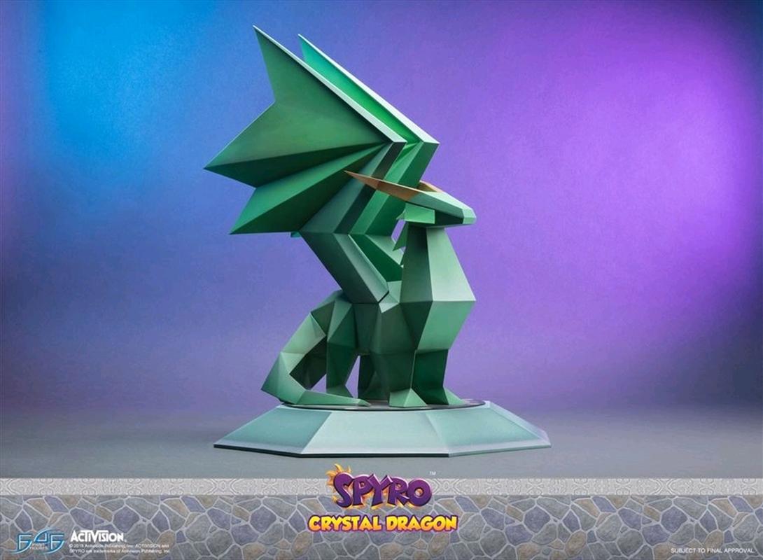 Spyro the Dragon - Crystal Dragon Statue | Merchandise