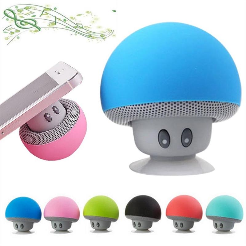 Mini Mushroom Bluetooth Speaker & Phone Stand | Accessories