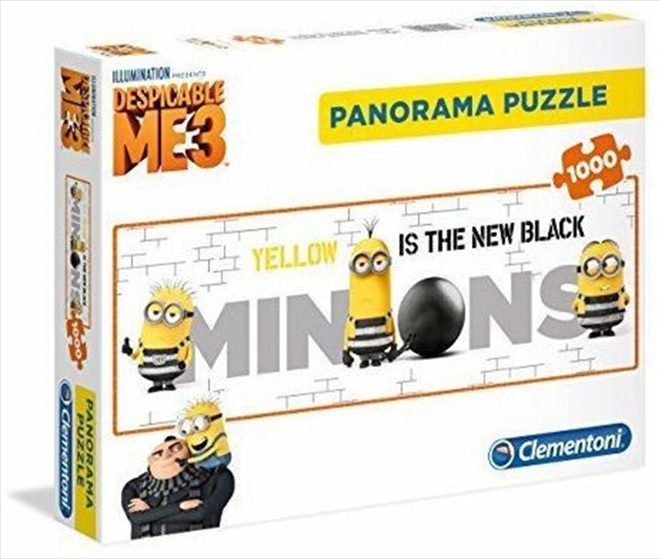 Clementoni Puzzle Minions Panorama 1000 Pieces | Merchandise