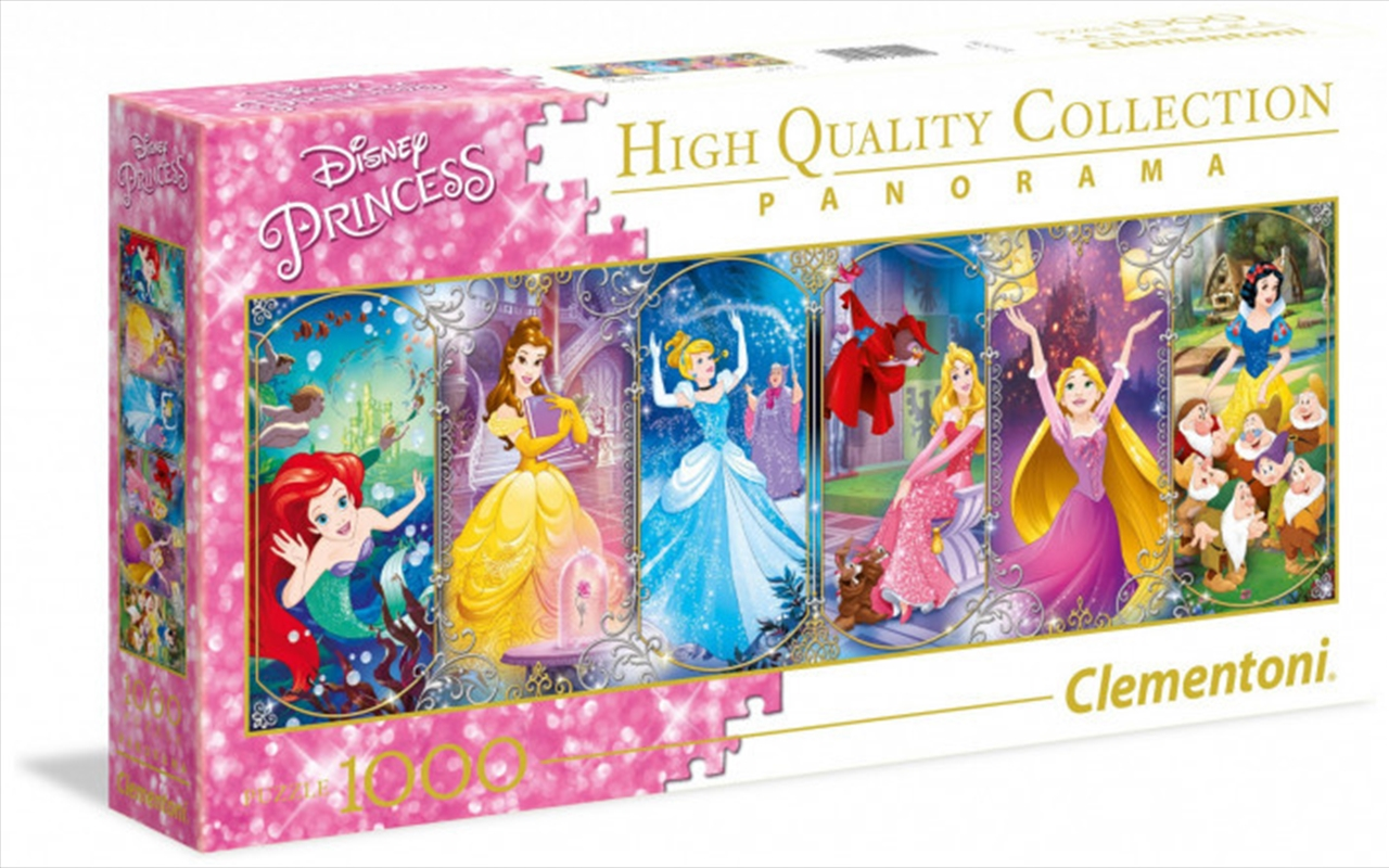 Clementoni Disney Puzzle Princess Panorama 1000 Pieces | Merchandise