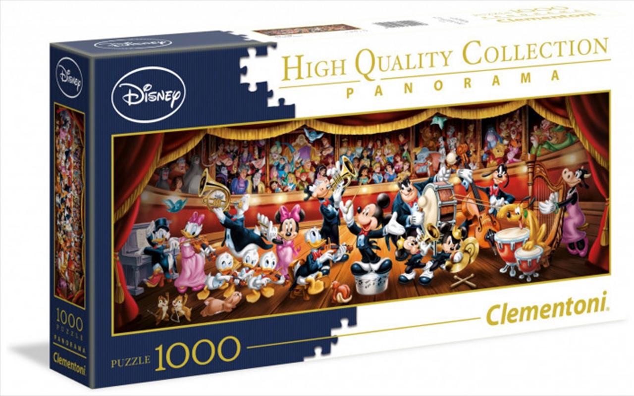 Clementoni Disney Puzzle Orchestra Panorama 1000 Pieces | Merchandise