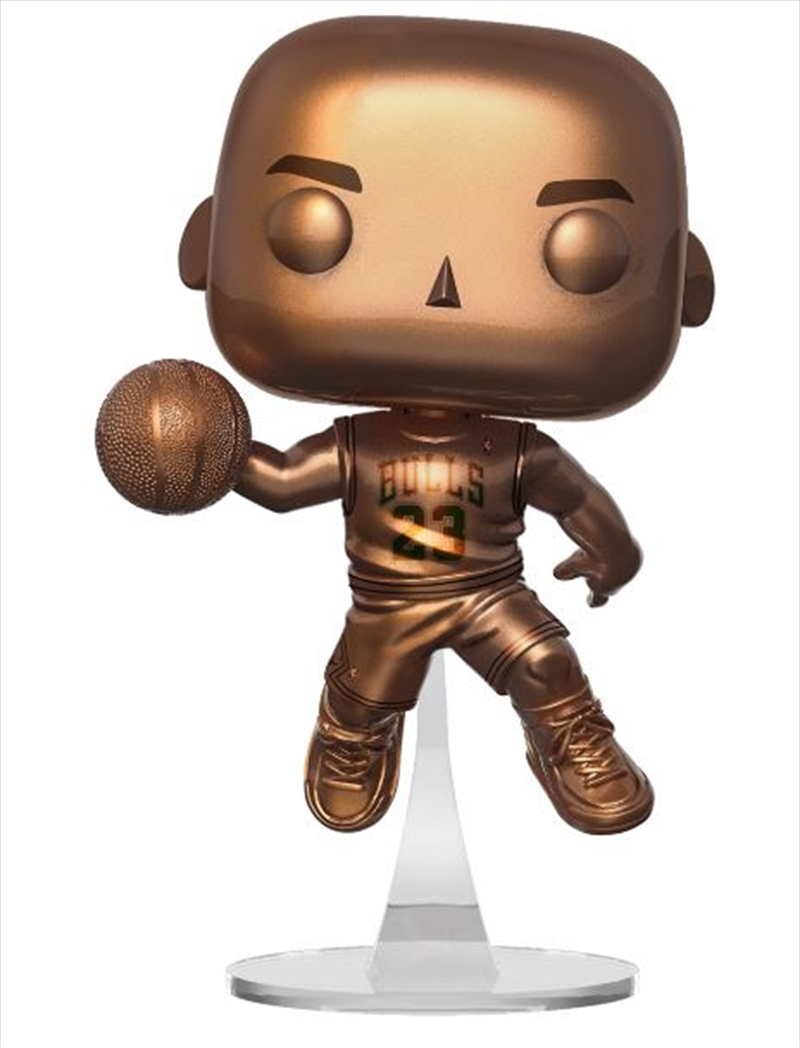 NBA - Michael Jordan Bronzed Pop! RS | Pop Vinyl