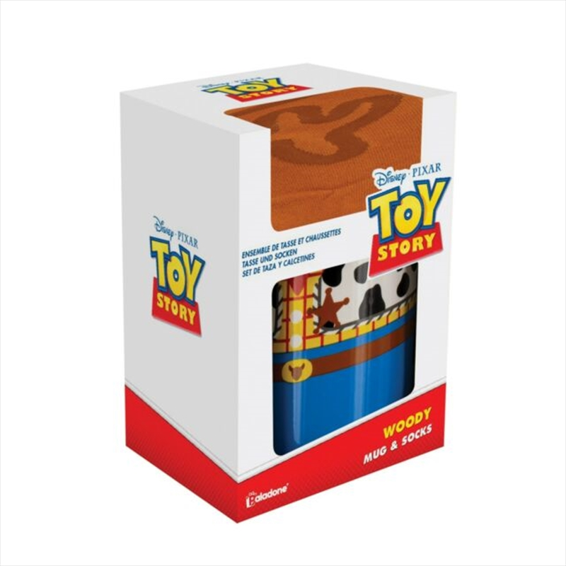 Toy Story - Woody Mug And Socks Gift Set | Merchandise