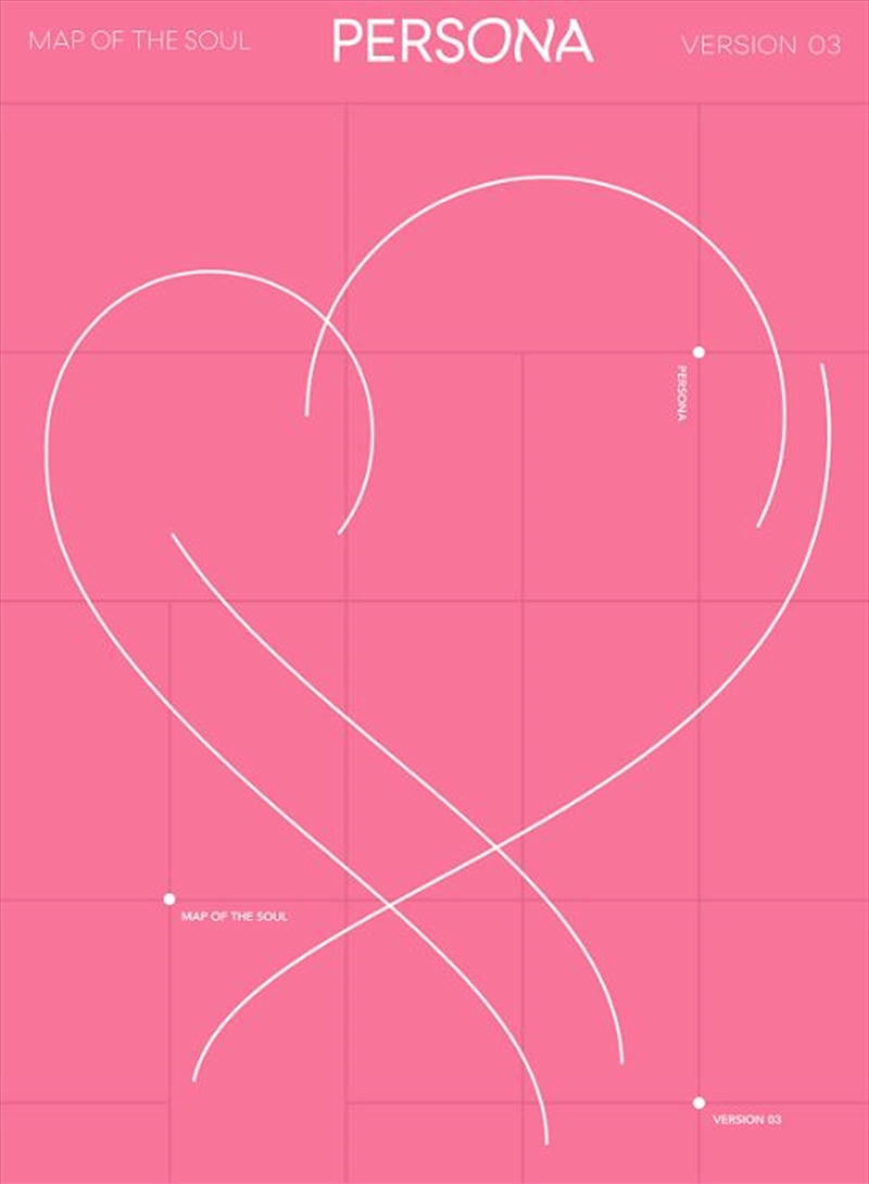 Map Of The Soul - PERSONA (Limited Edition Photobook Pack) | CD