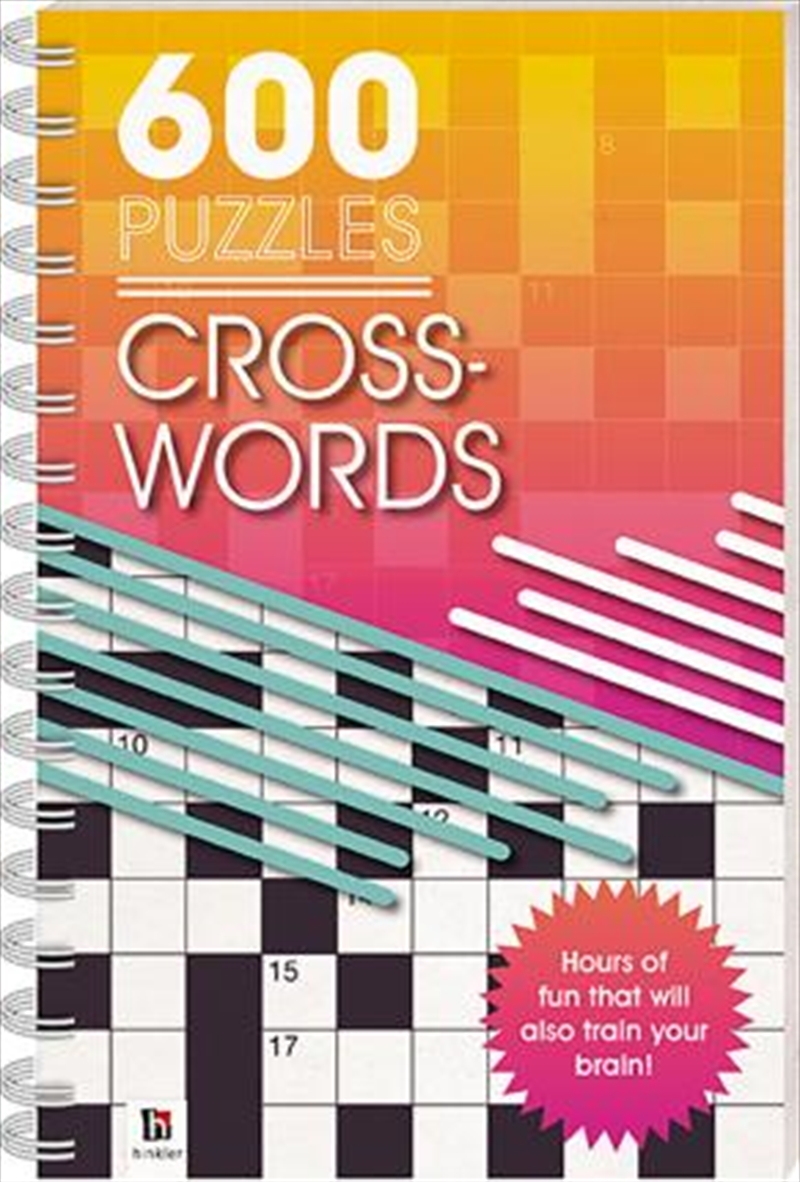 600 Puzzles Crosswords | Paperback Book