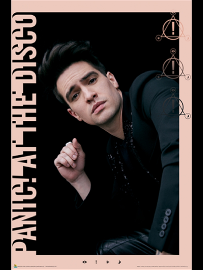 Panic At The Disco Pink Frame | Merchandise