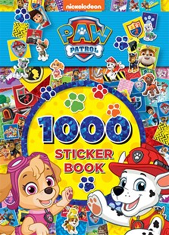 PAW Patrol 1000 Sticker Book | Paperback Book