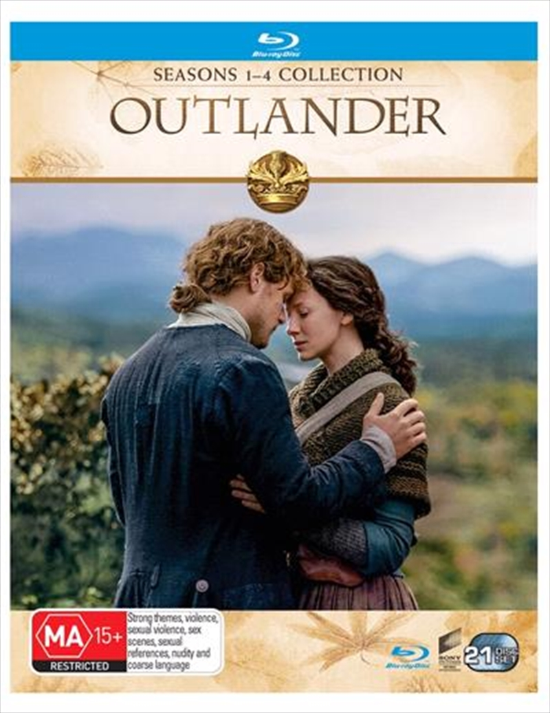 Outlander - Season 1-4 | Boxset | Blu-ray