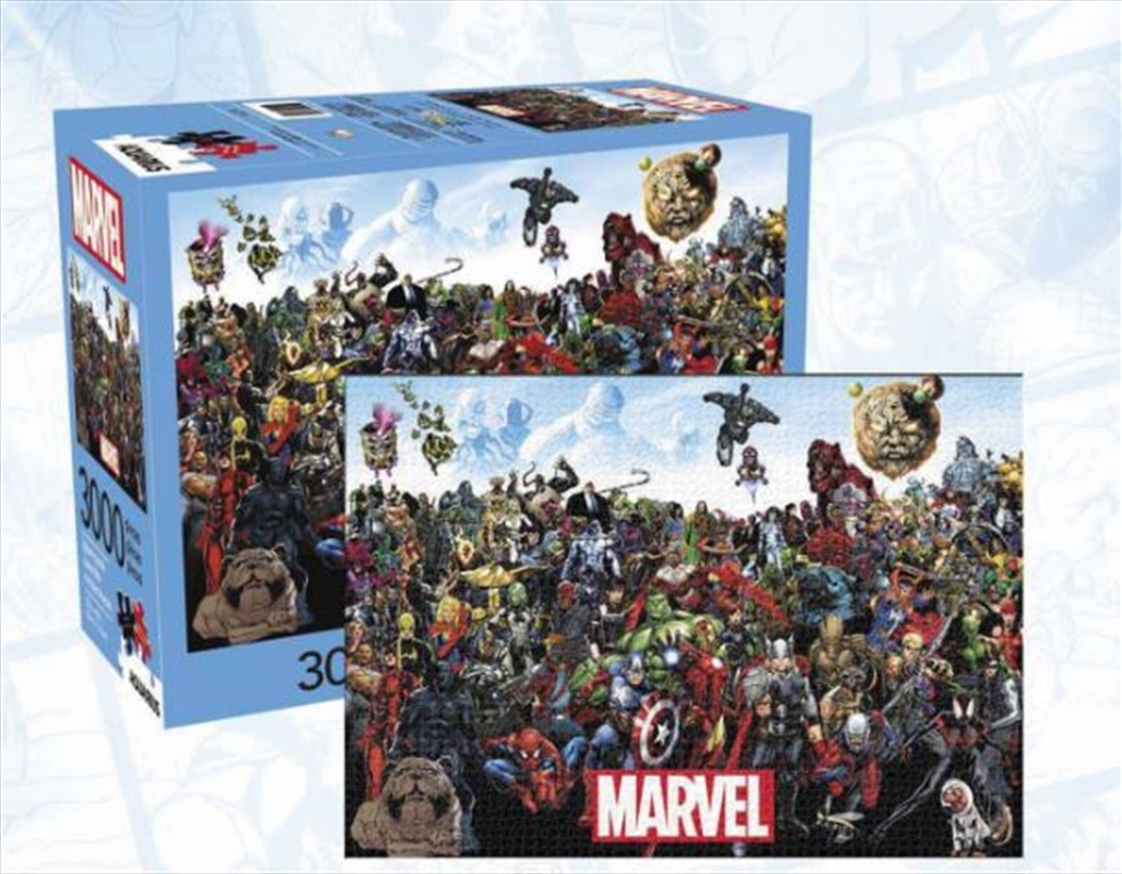 Marvel Cast 3000 Piece Puzzle | Merchandise