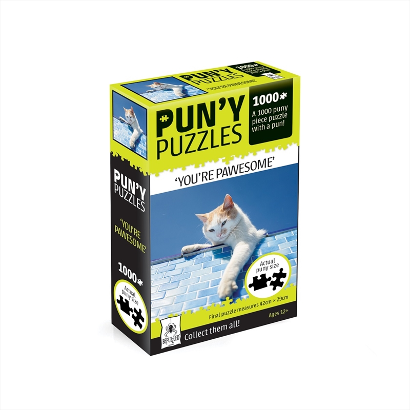 Pun'y Puzzles - You're Pawesome | Merchandise
