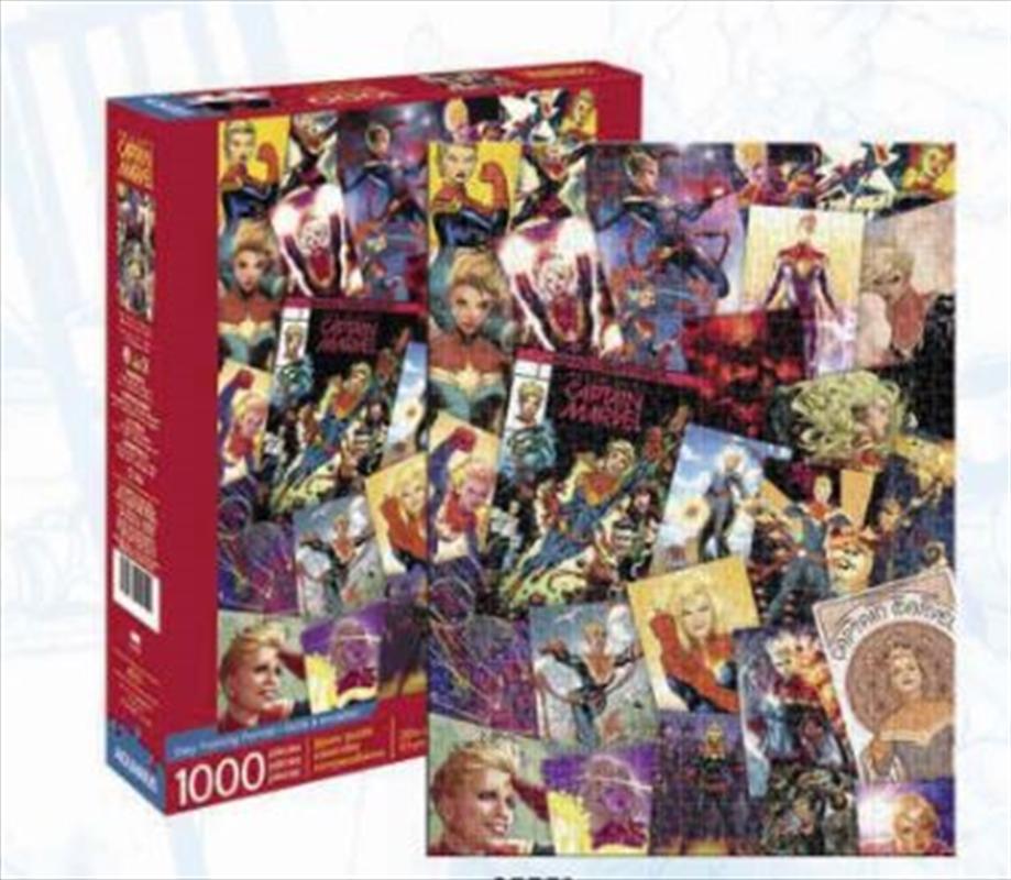 Captain Marvel Collage 1000pc   Merchandise