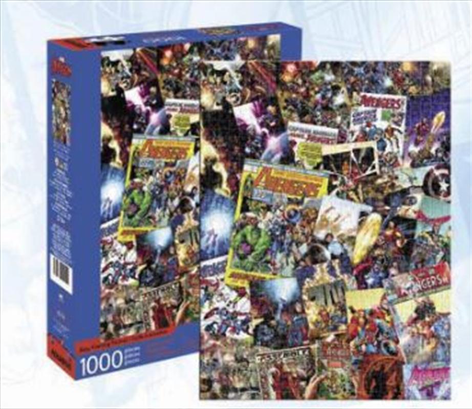 Avengers Collage 1000pc Puzzle | Merchandise