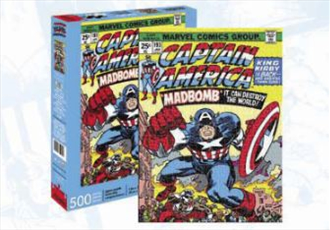 Captain America Cover 500pc | Merchandise