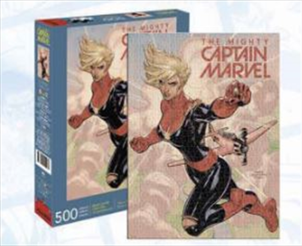 Captain Marvel Cover 500pc | Merchandise