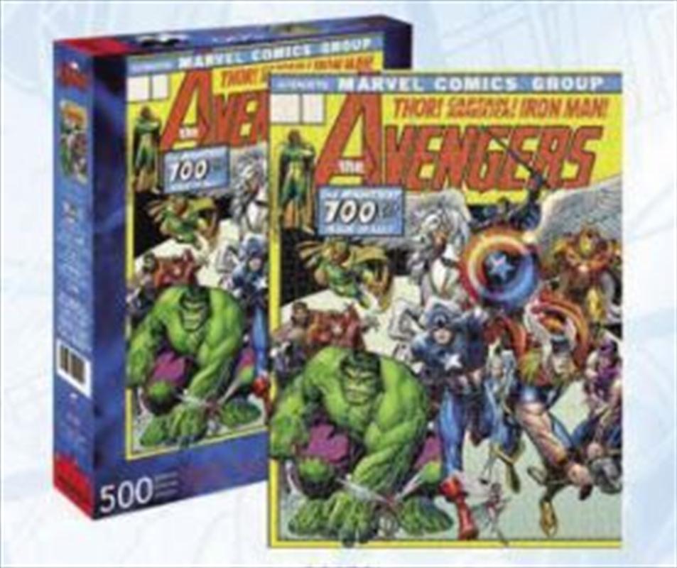 Avengers Cover 500 Piece Puzzle | Merchandise