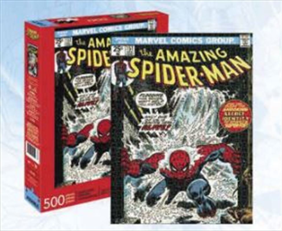 Spiderman Cover 500 Piece Puzzle | Merchandise