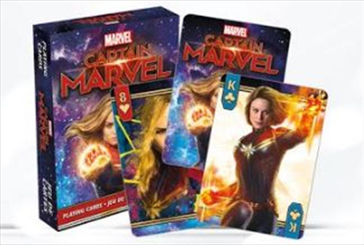 Avengers Endgame - Captain Marvel Playing Cards | Merchandise