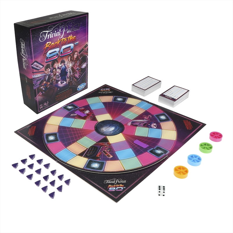 Stranger Things Trivial Pursuit - 80's Edition | Merchandise