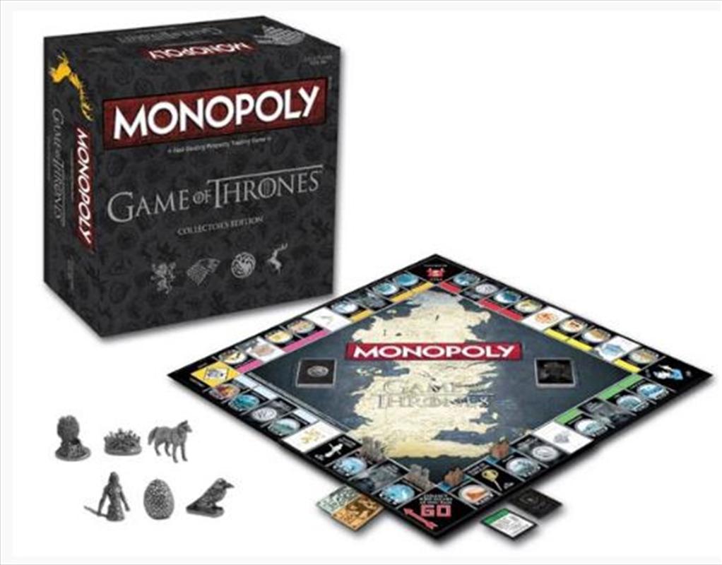 Monopoly: Game Of Thrones Edition | Merchandise