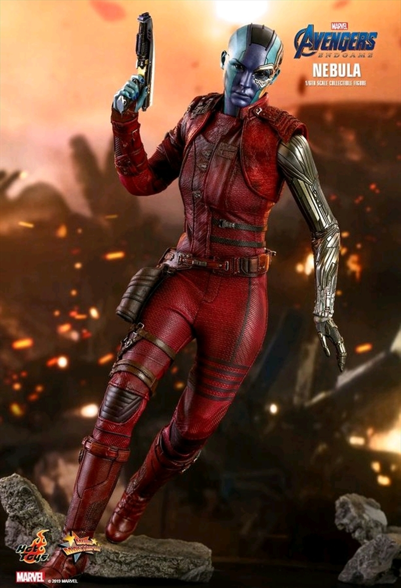 "Avengers 4: Endgame - Nebula 12"" 1:6 Scale Action Figure | Merchandise"