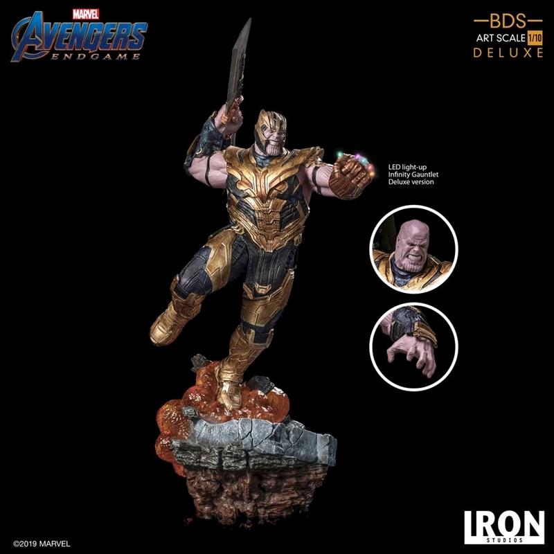 Avengers 4: Endgame - Thanos Deluxe 1:10 Scale Statue | Merchandise