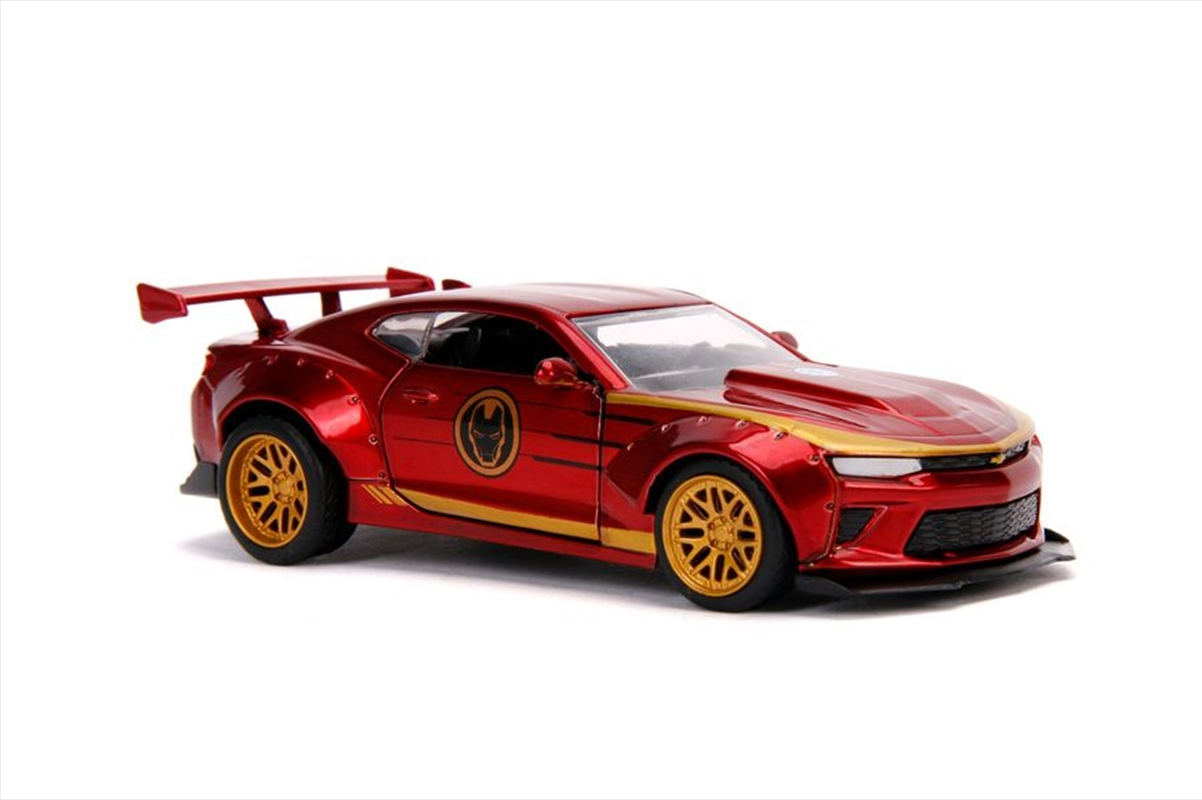 Iron Man - 2016 Chevy Camaro SS 1:32 Hollywood Ride | Merchandise