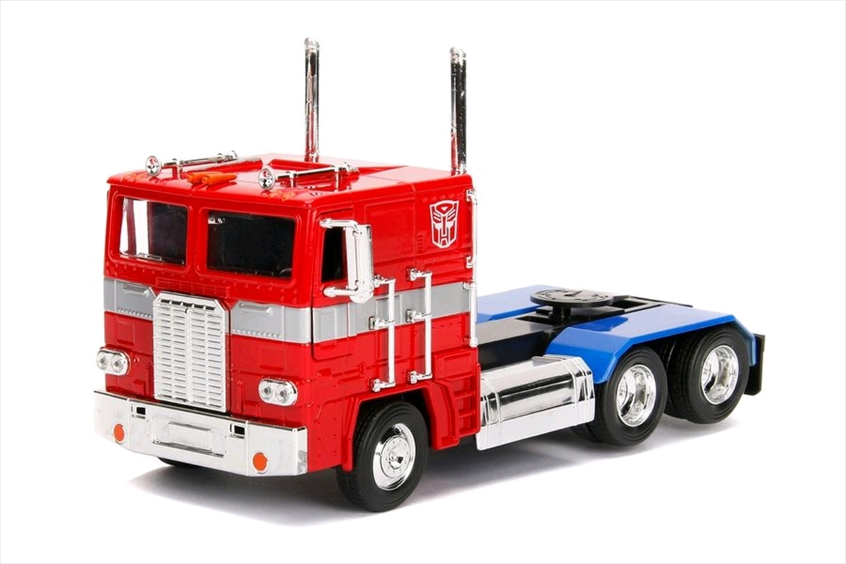 Transformers - Optimus Prime G1 1:24 Hollywood Ride | Merchandise