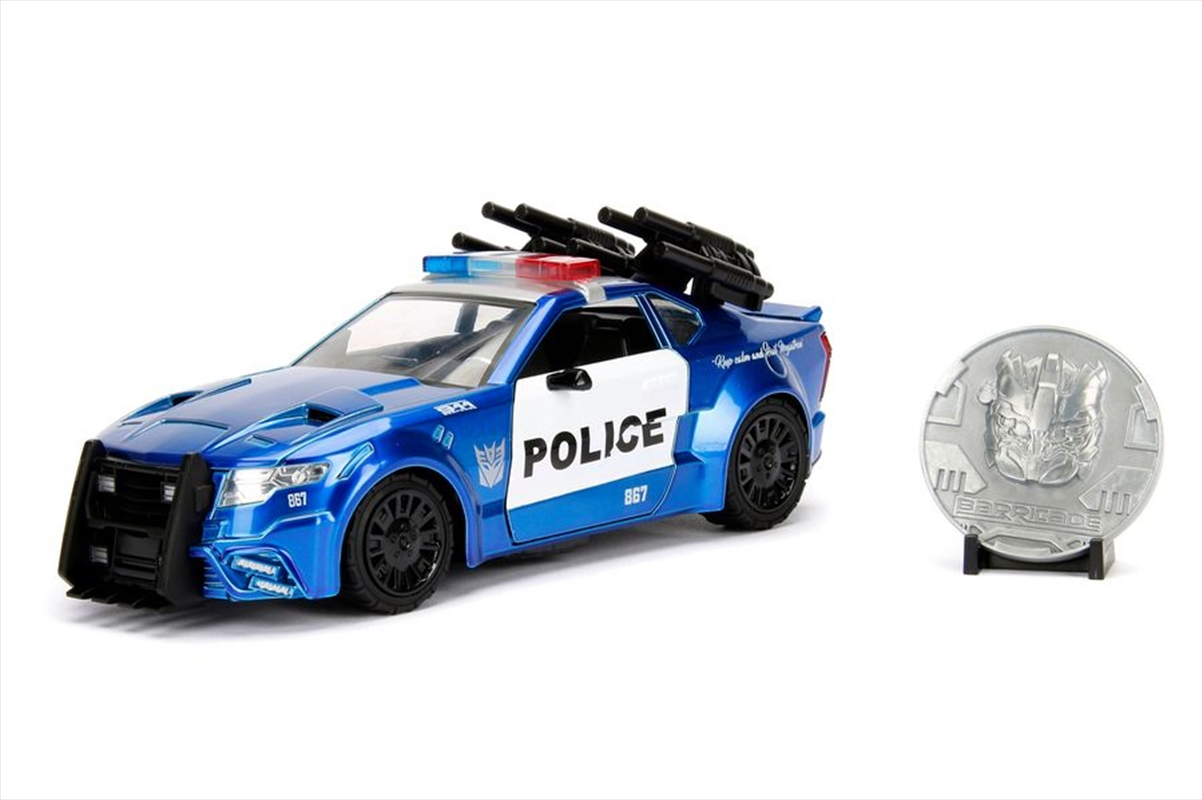 Transformers - Ford Mustang Barricade 1:24 Hollywood Ride | Merchandise