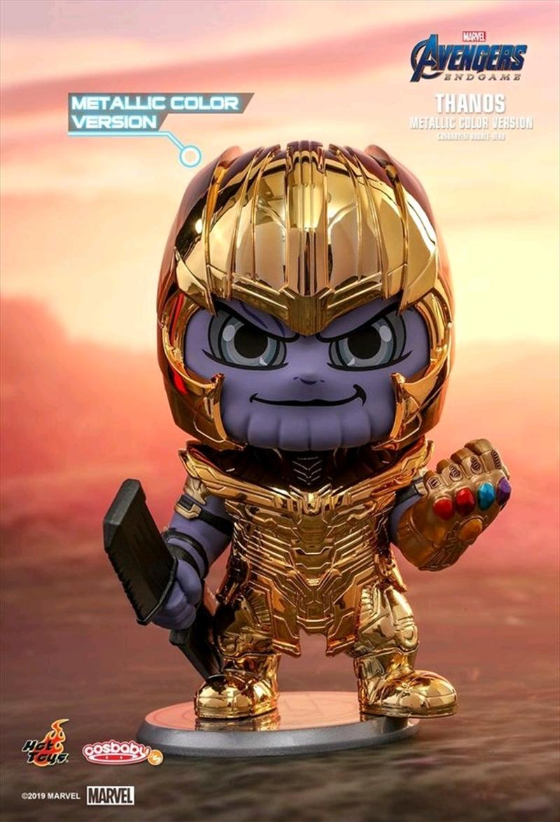 Avengers 4: Endgame - Thanos Metallic Cosbaby | Merchandise