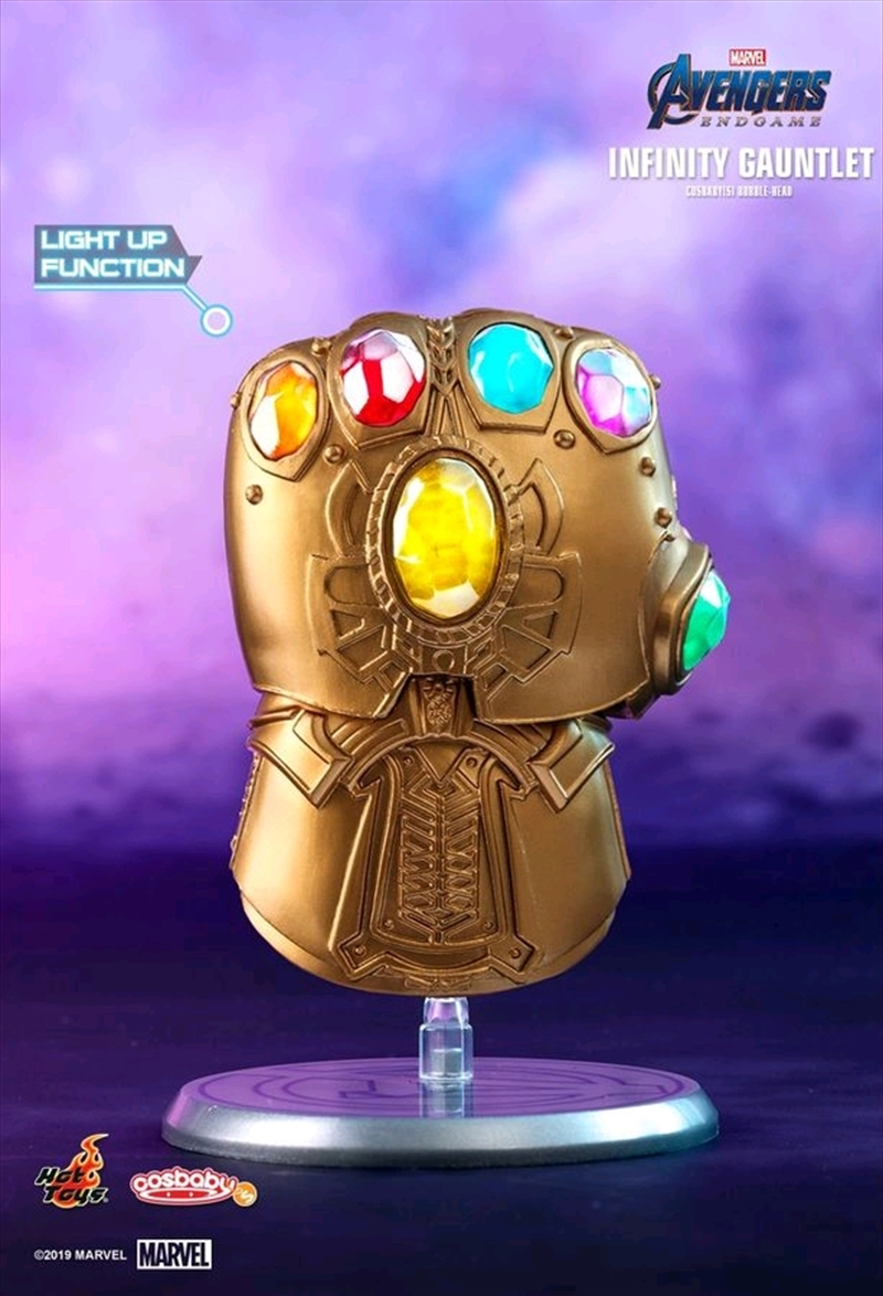 Avengers 4: Endgame - Infinity Gauntlet Light-Up Cosbaby | Merchandise