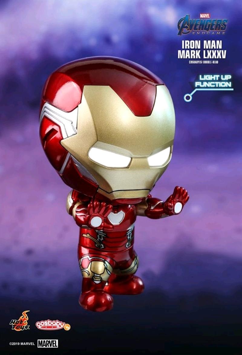 Avengers 4: Endgame - Iron Man Light-Up Cosbaby   Merchandise