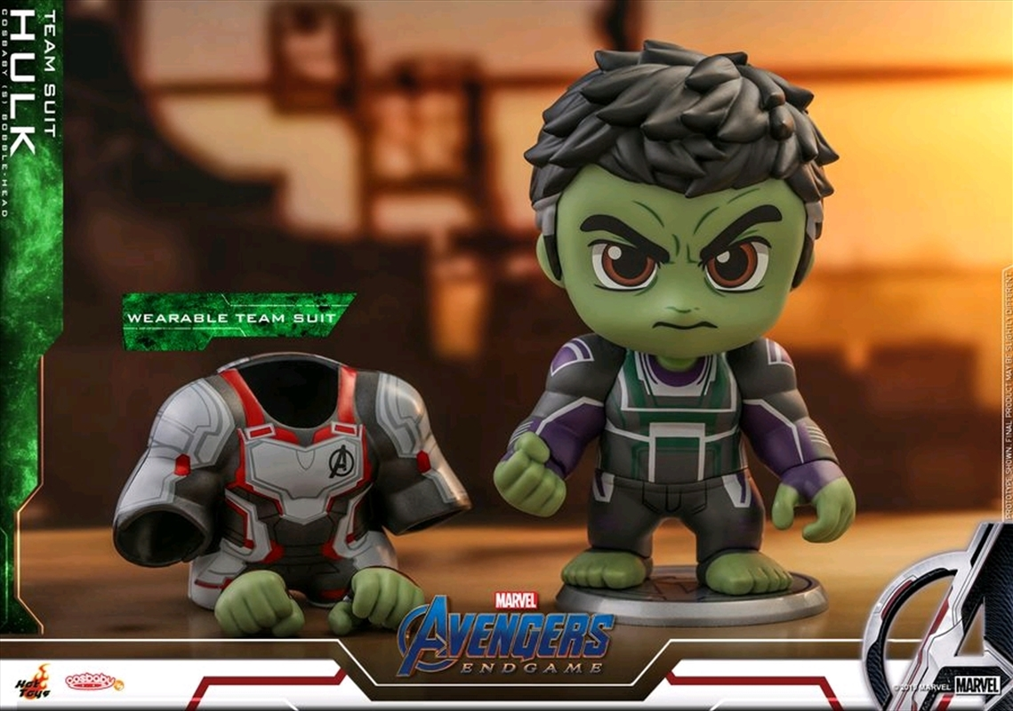 Avengers 4: Endgame - Hulk with Suit Cosbaby | Merchandise