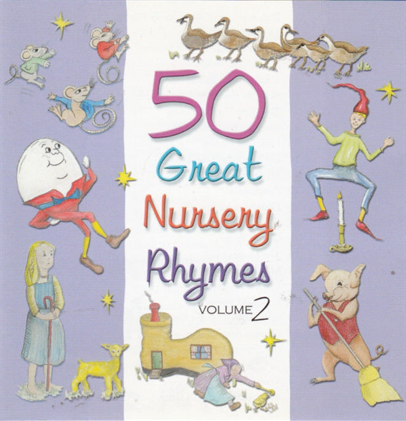 50 Great Nursery Rhymes Vol 2 | CD