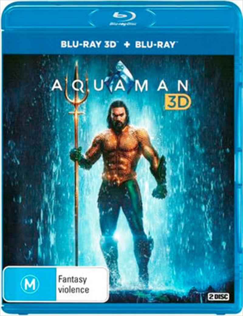 Aquaman | 3D + 2D Blu-ray | Blu-ray 3D