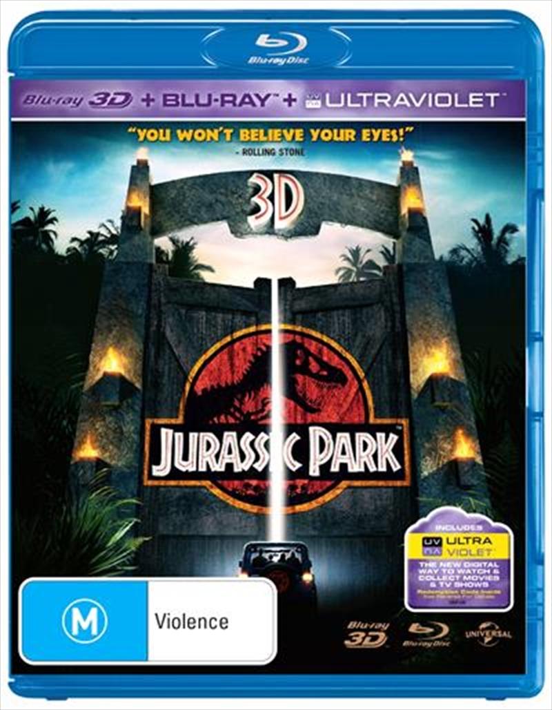Jurassic Park | Blu-ray 3D
