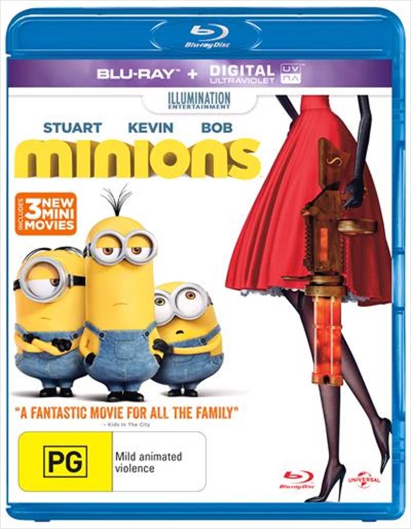 Minions | Blu-ray