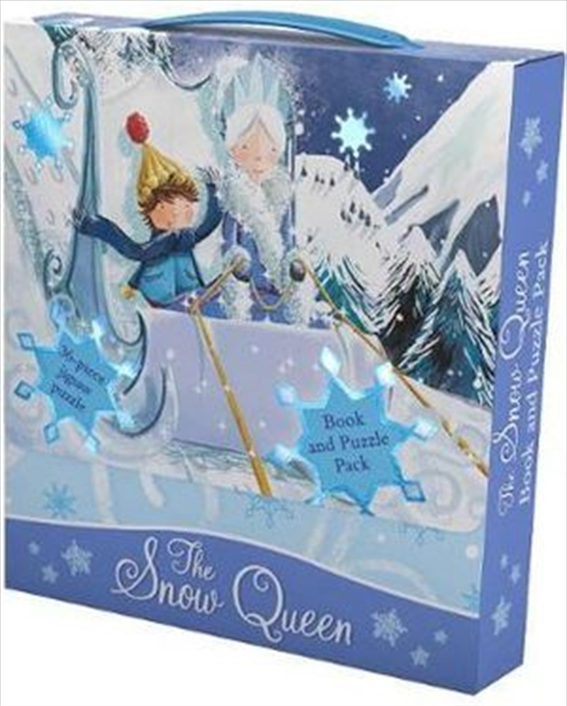 Snow Queen Book and Puzzle Pack 36-Piece Jigsaw Puzzle | Paperback Book
