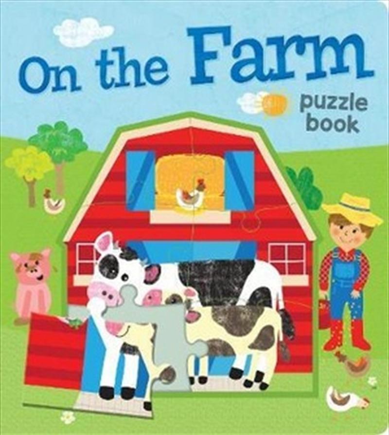 On the Farm EVA Puzzle Book   Board Book