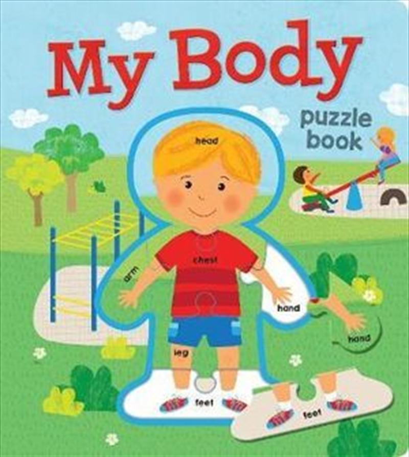 My Body EVA Puzzle Book | Board Book