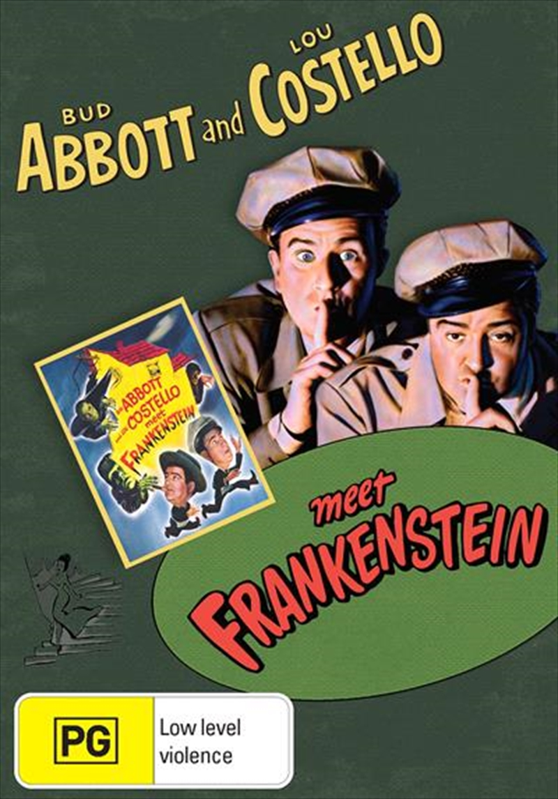 Abbott And Costello Meet Frankenstein | DVD