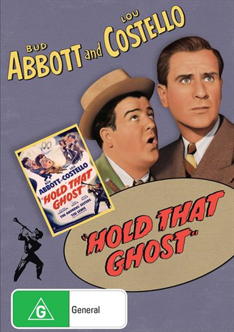 Hold That Ghost | DVD