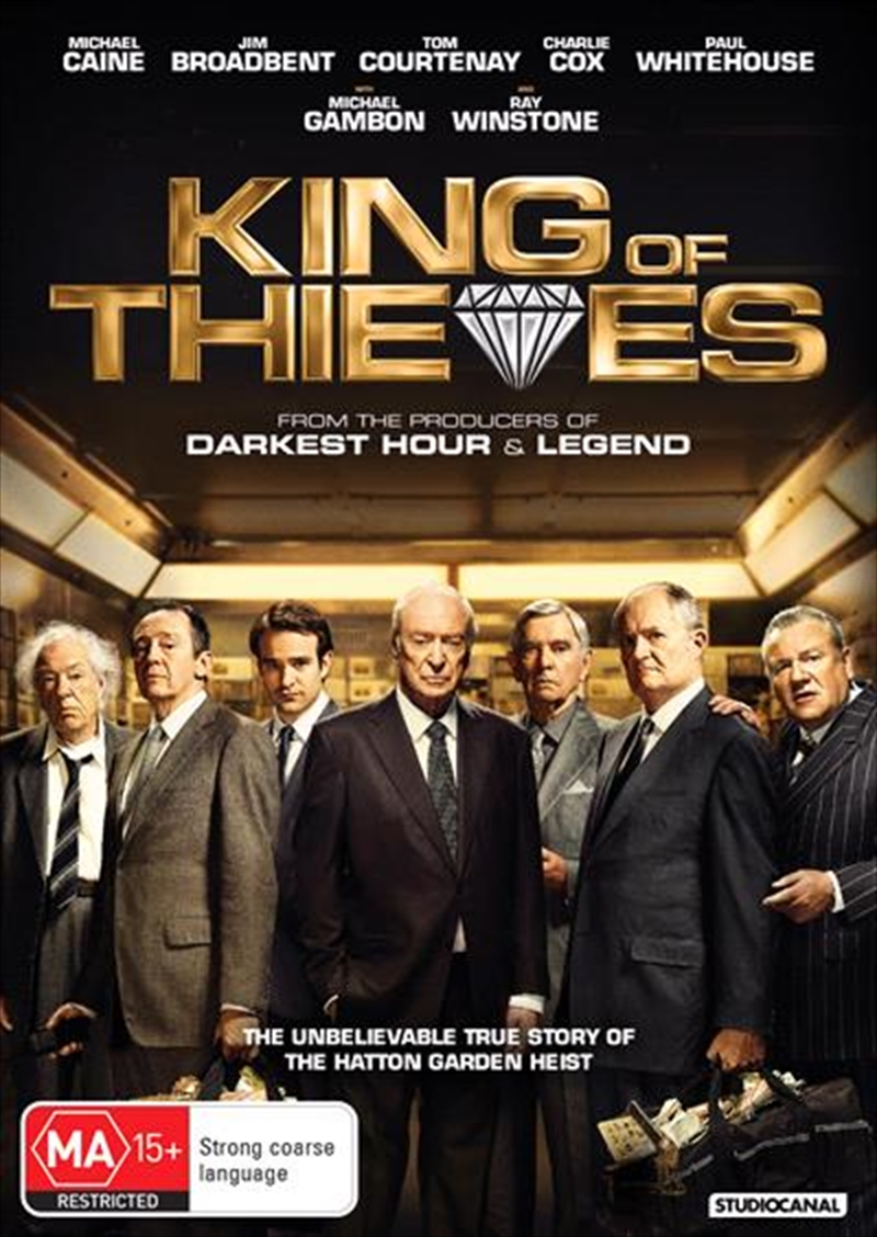 King Of Thieves | DVD