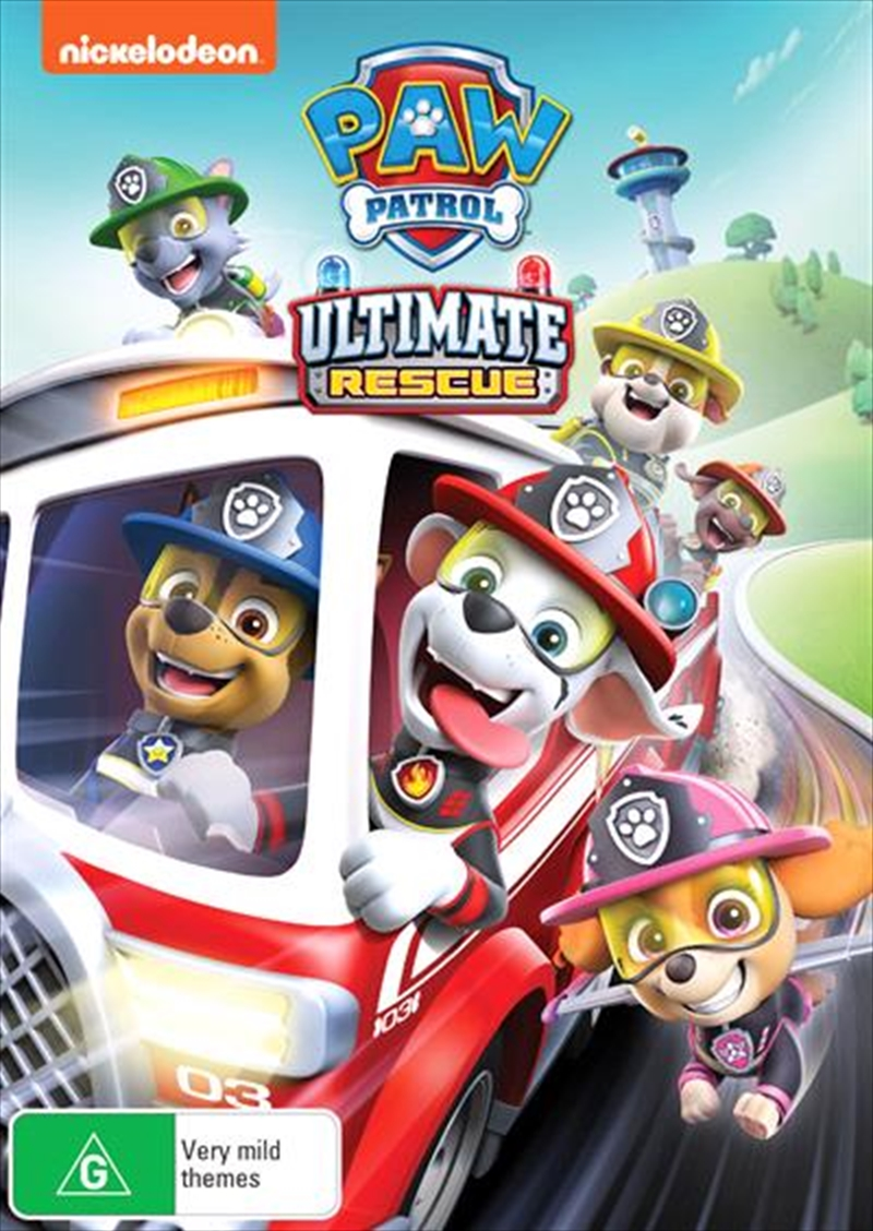 Paw Patrol - Ultimate Rescue | DVD