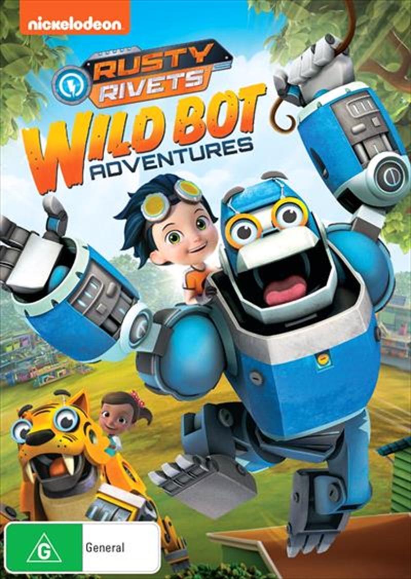 Rusty Rivets - Wild Bot Adventures | DVD